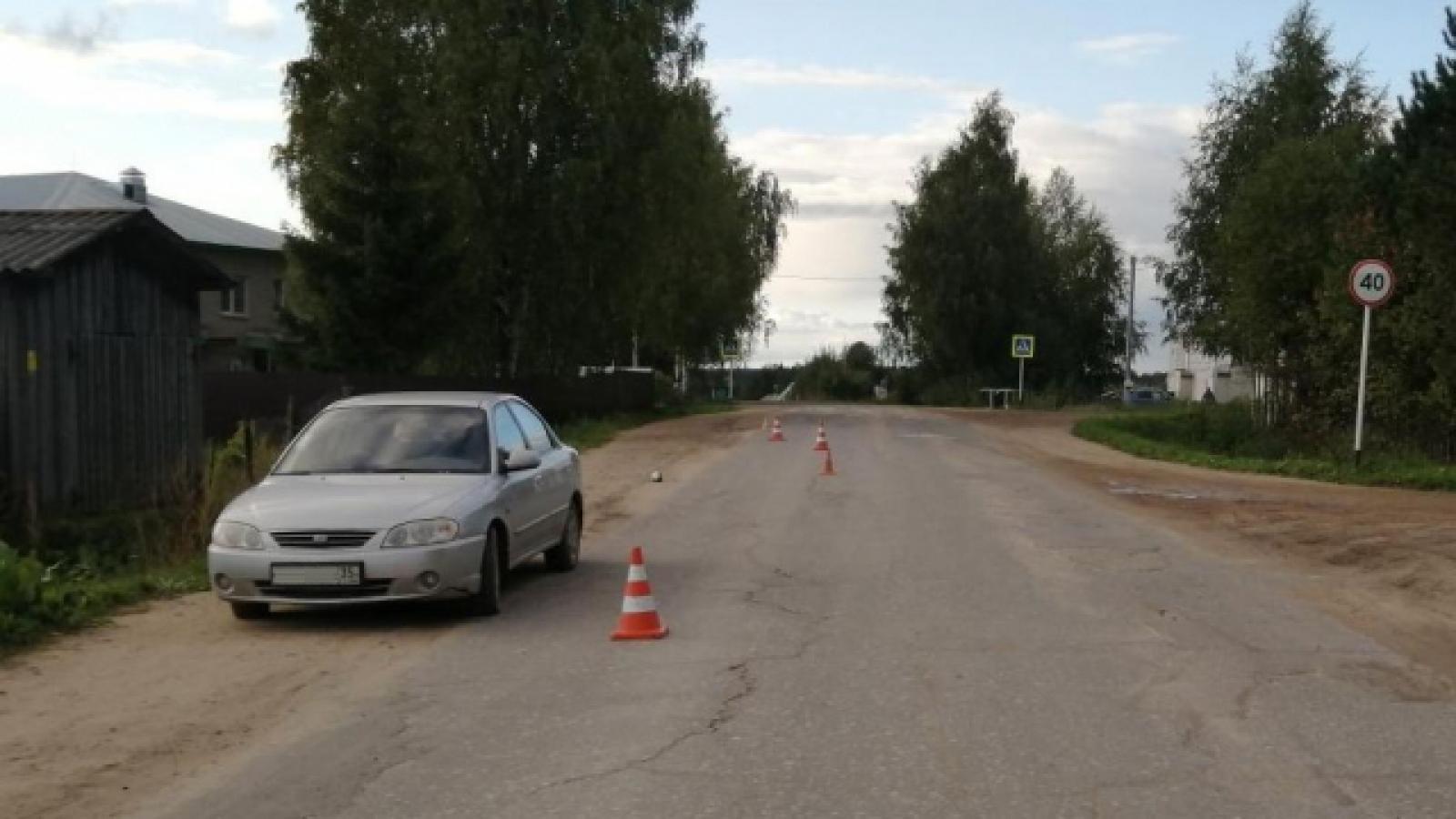 Ребенок пострадал в аварии в Тарногском Городке