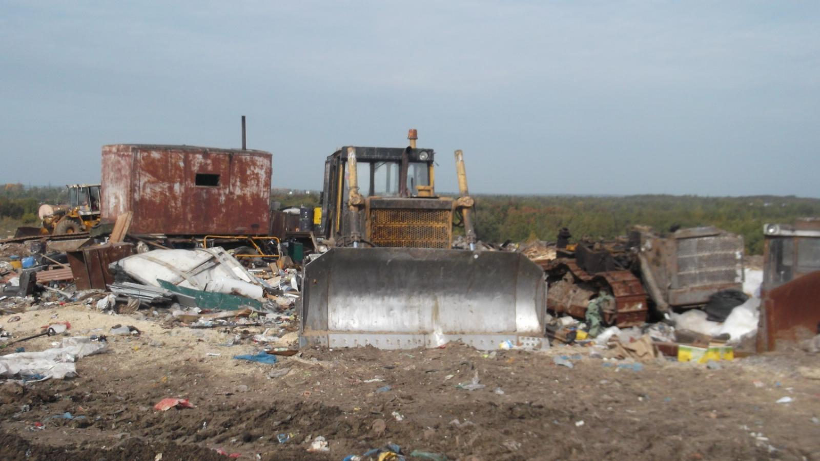 Идёт подготовка к рекультивации городской свалки в Вологде