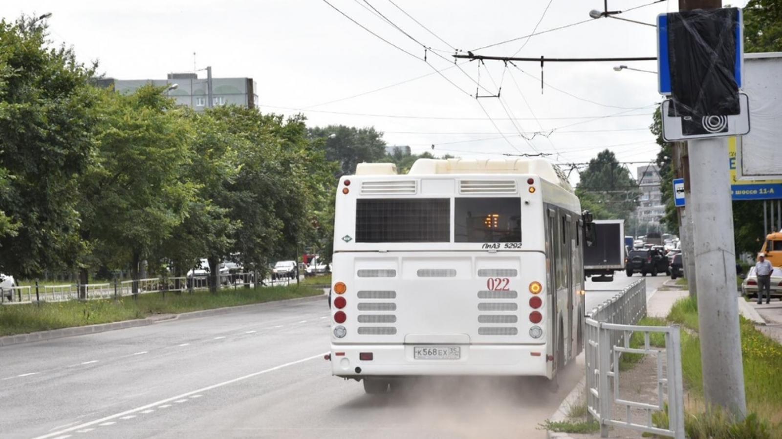 На Пошехонском шоссе появилась автобусная полоса
