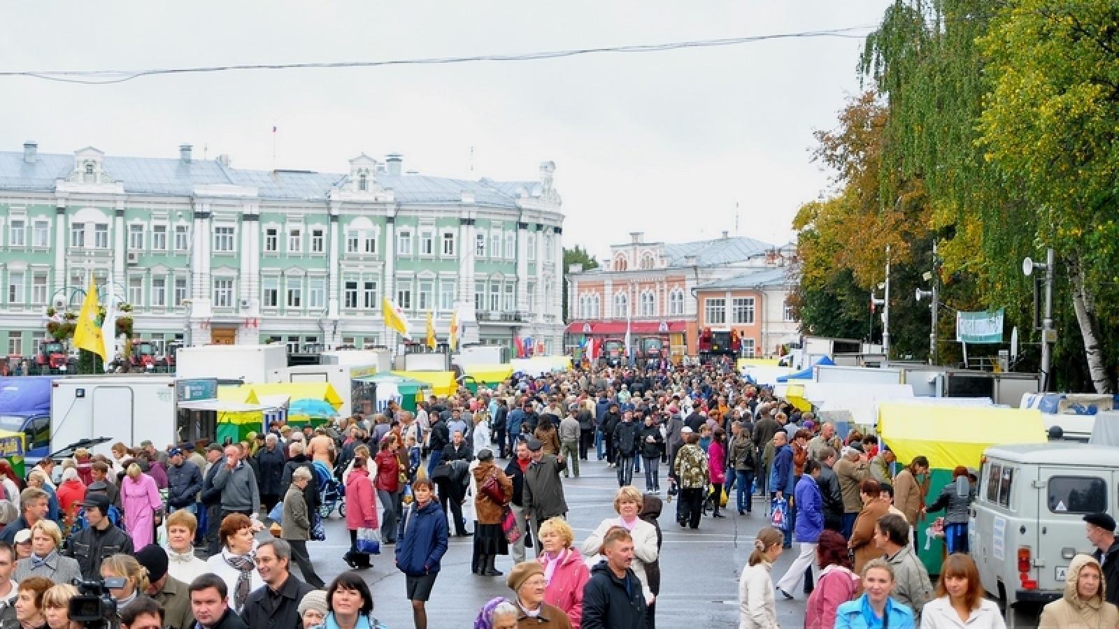 Большая ярмарка пройдёт в Вологде