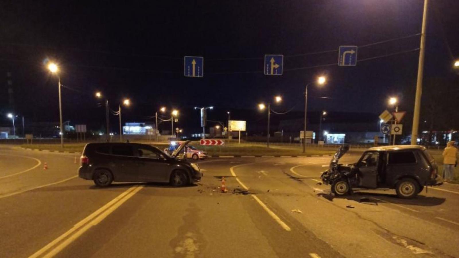 Пьяный водитель устроил ДТП на Окружном шоссе