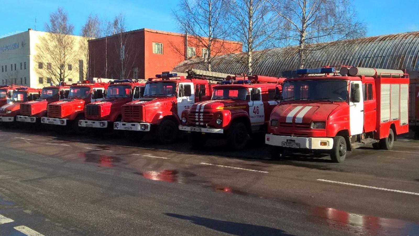 Вологодчине подарили б/у пожарные машины