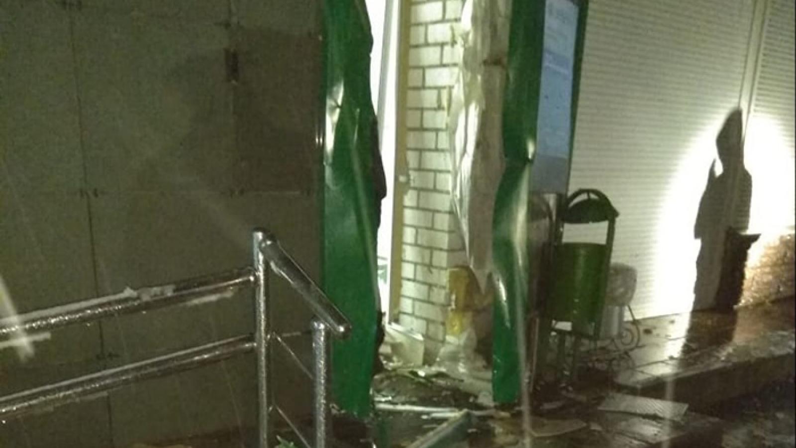 В Череповце мужчина пытался взорвать банкомат и погиб