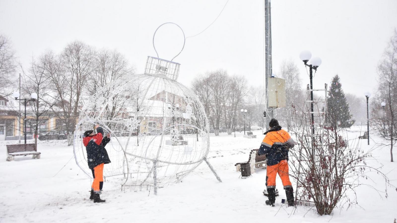 Фигуру шара демонтировали в Вологде