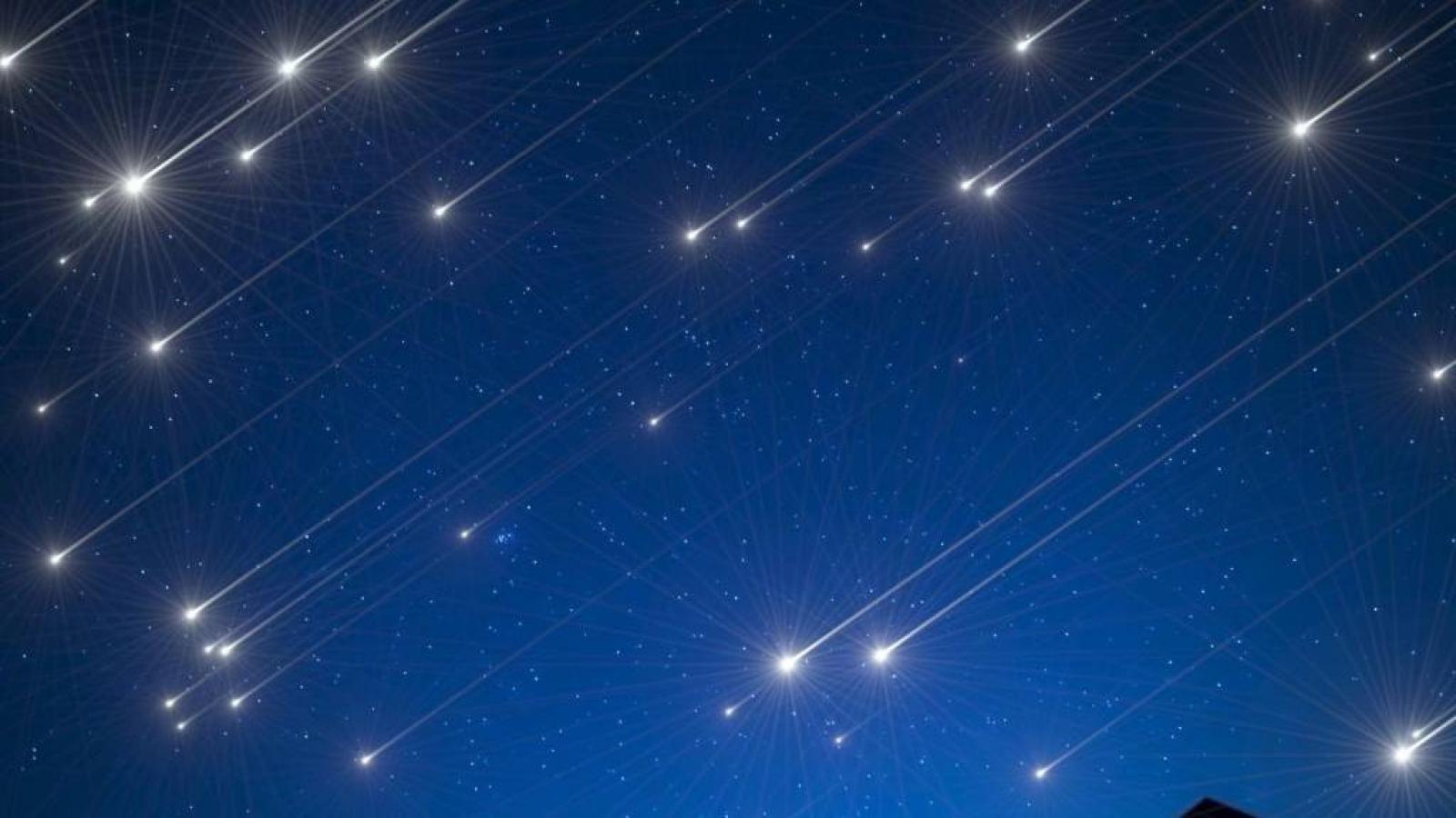 Вологжане смогут увидеть падающие звезды