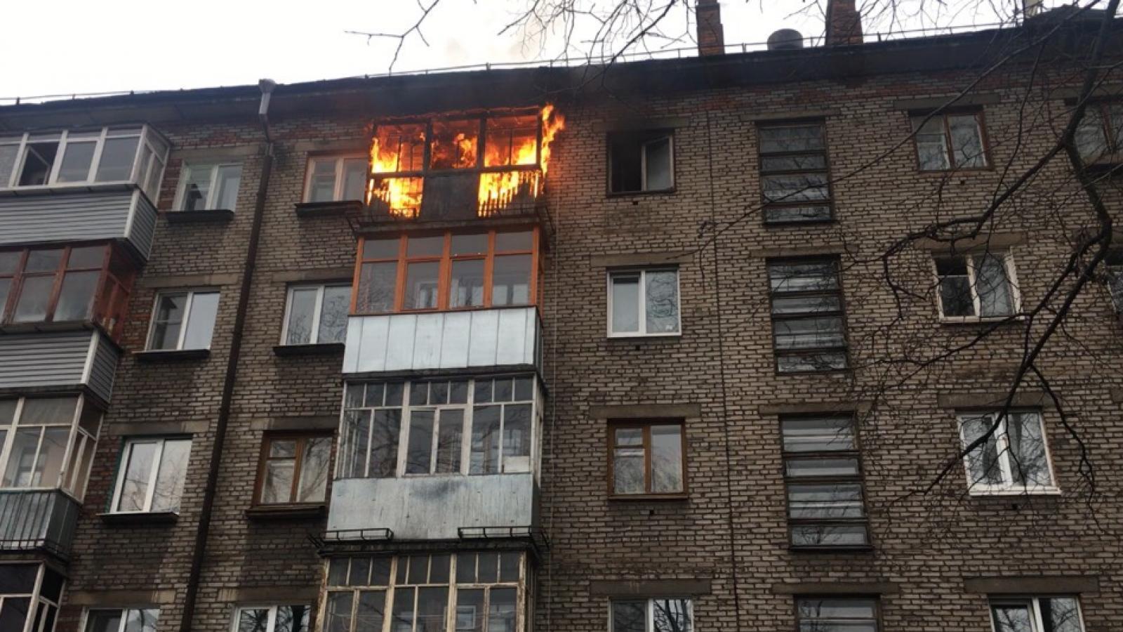 Нетрезвый череповчанин спалил квартиру