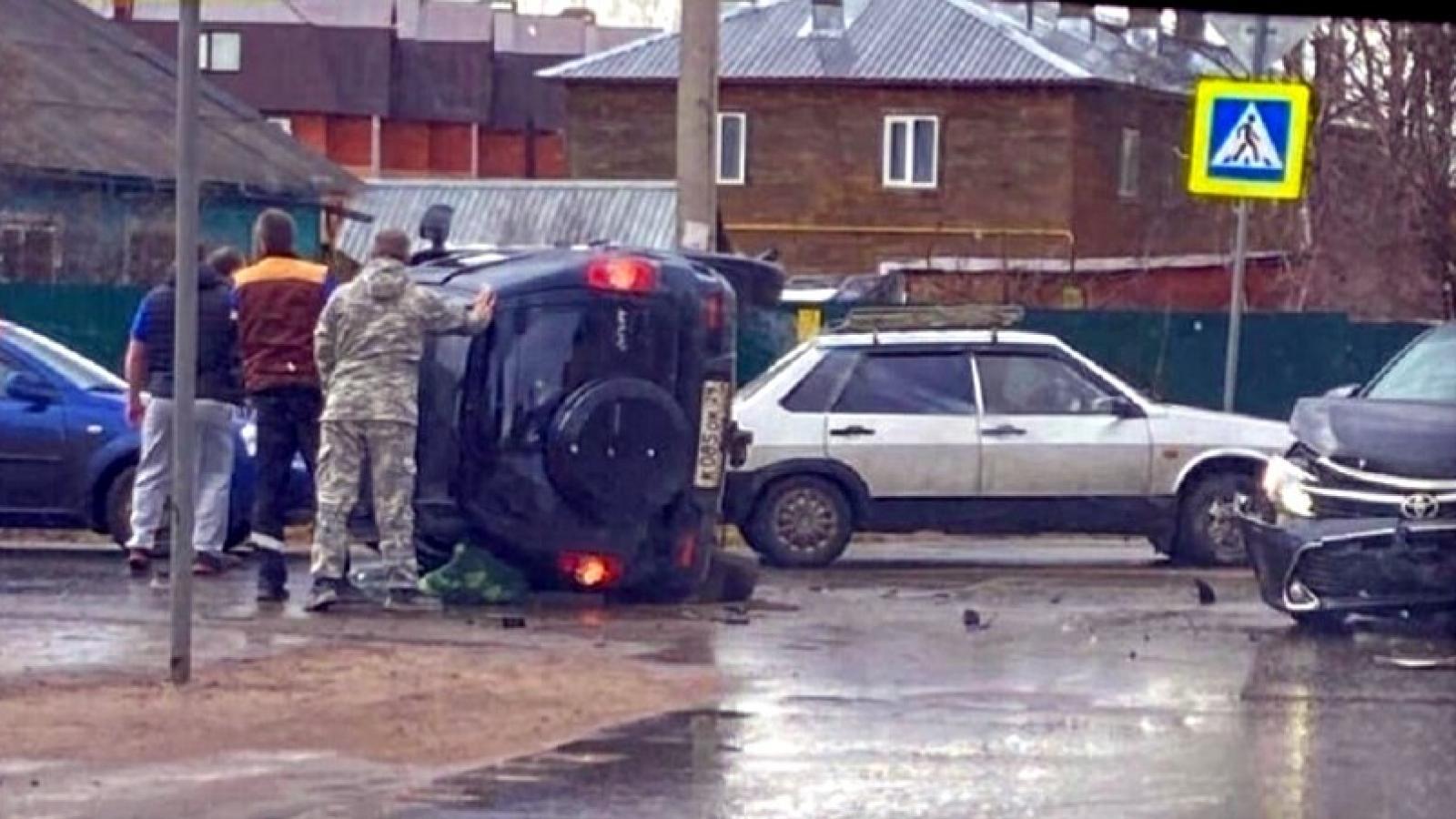 Глава Великоустюгского района снова попал в аварию