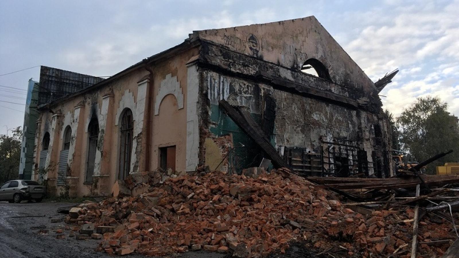 Собственника «Труда» оштрафовали за незаконный снос здания