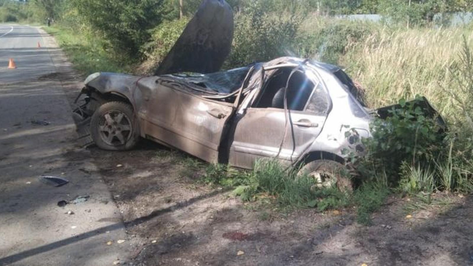 Молодой водитель разбился в Харовске