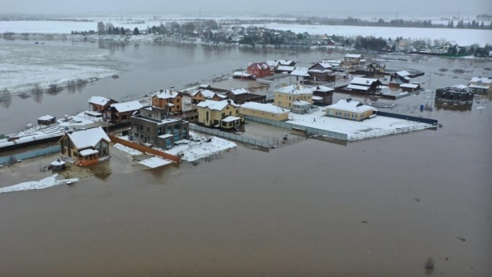 Вологодский район страдает от наводнения