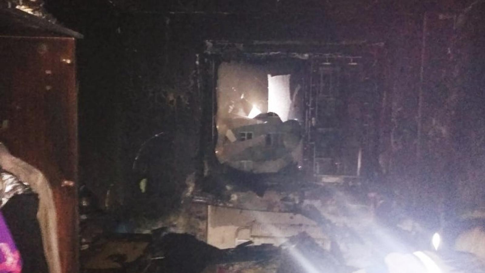 Вологжанка и её дети погибли в пожаре