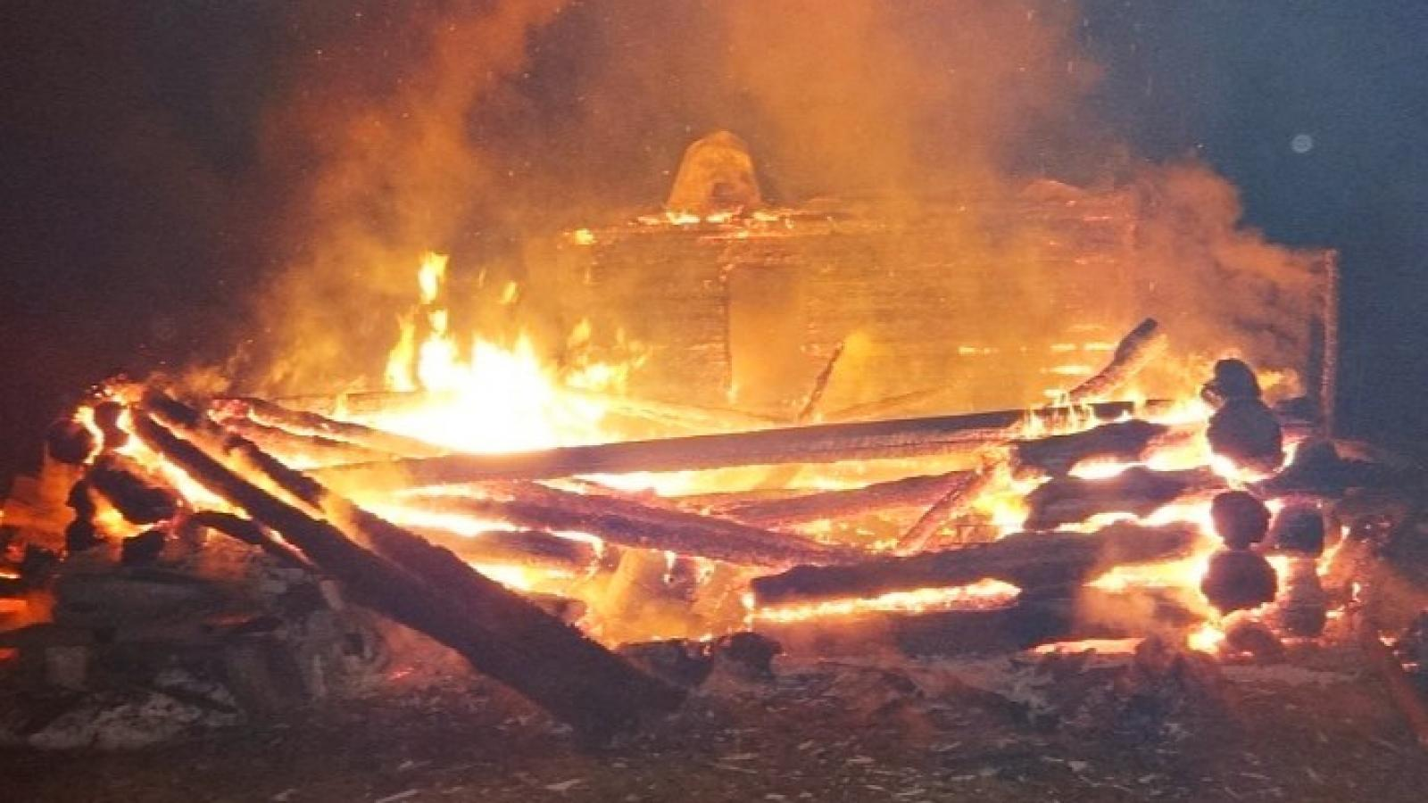 Пожар унёс жизни двух человек