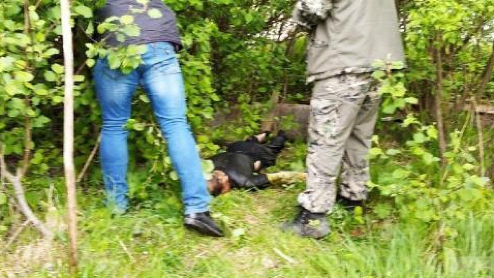 Дети нашли в колодце труп