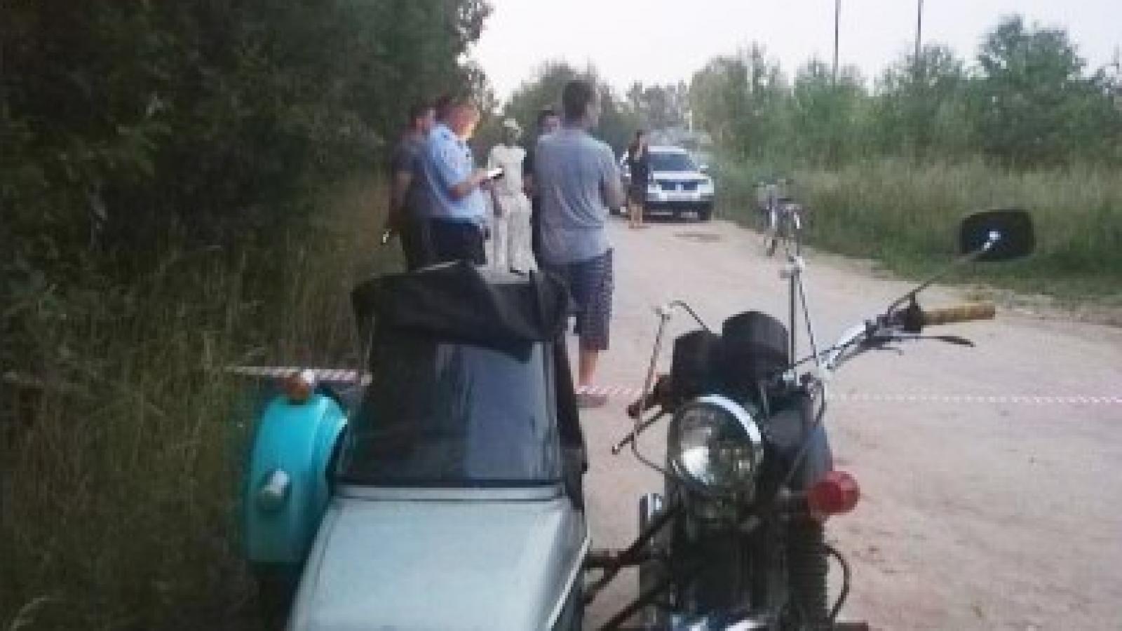 Мужчина погиб, упав с мотоцикла