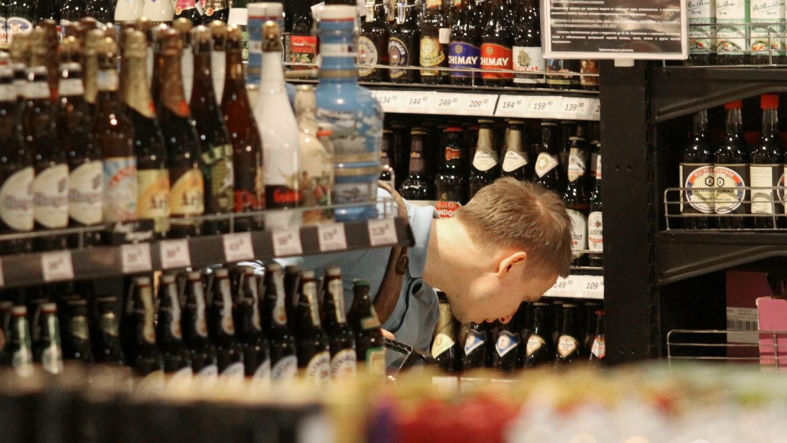 Череповчанин подозревается в краже алкоголя