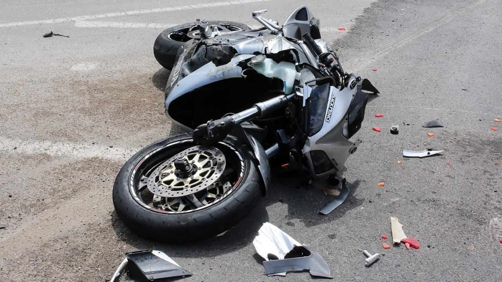 24-летняя череповчанка улетела с мотоцикла на полной скорости