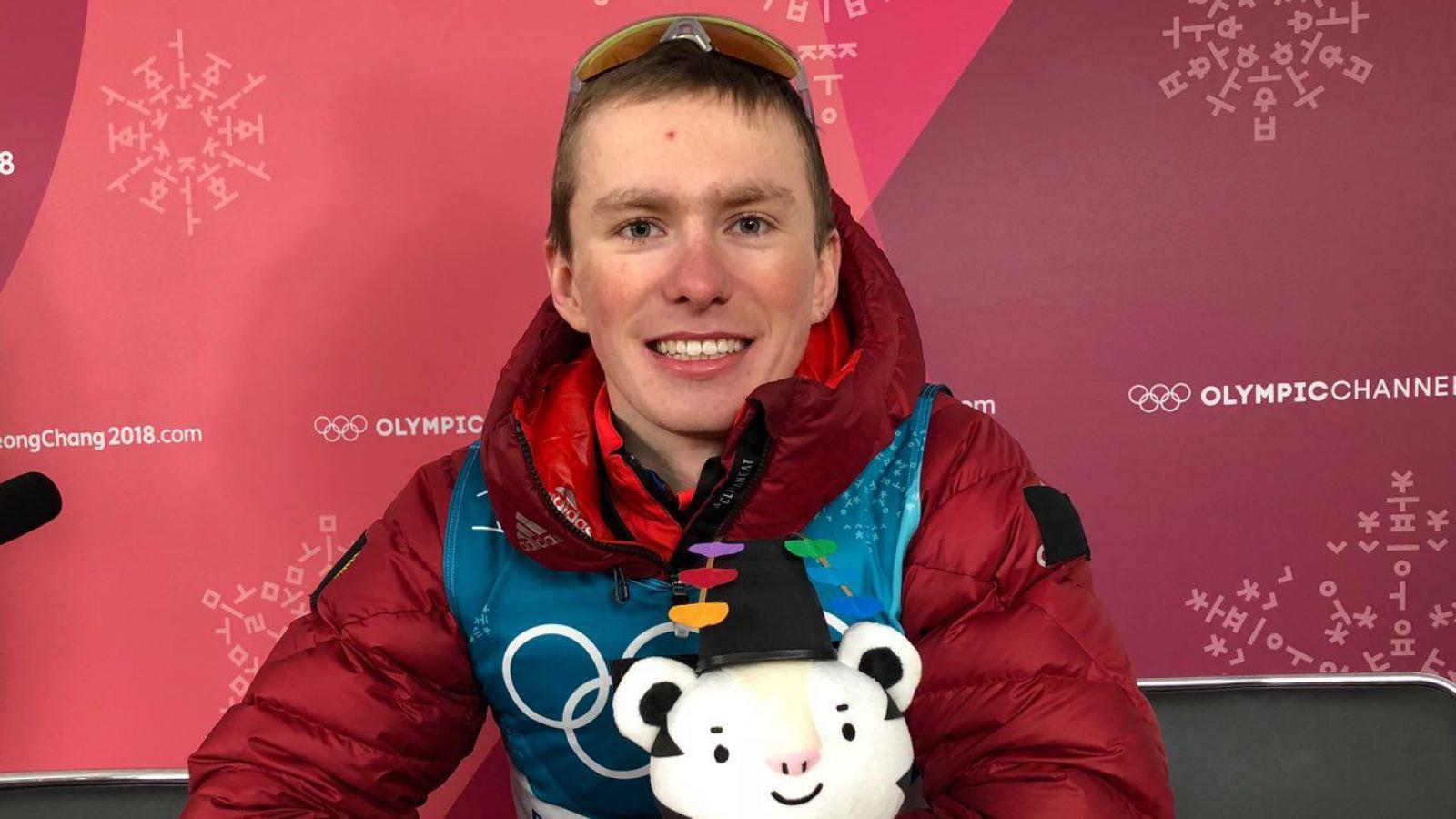 Денис Спицов вошел в пятерку лучших лыжников России