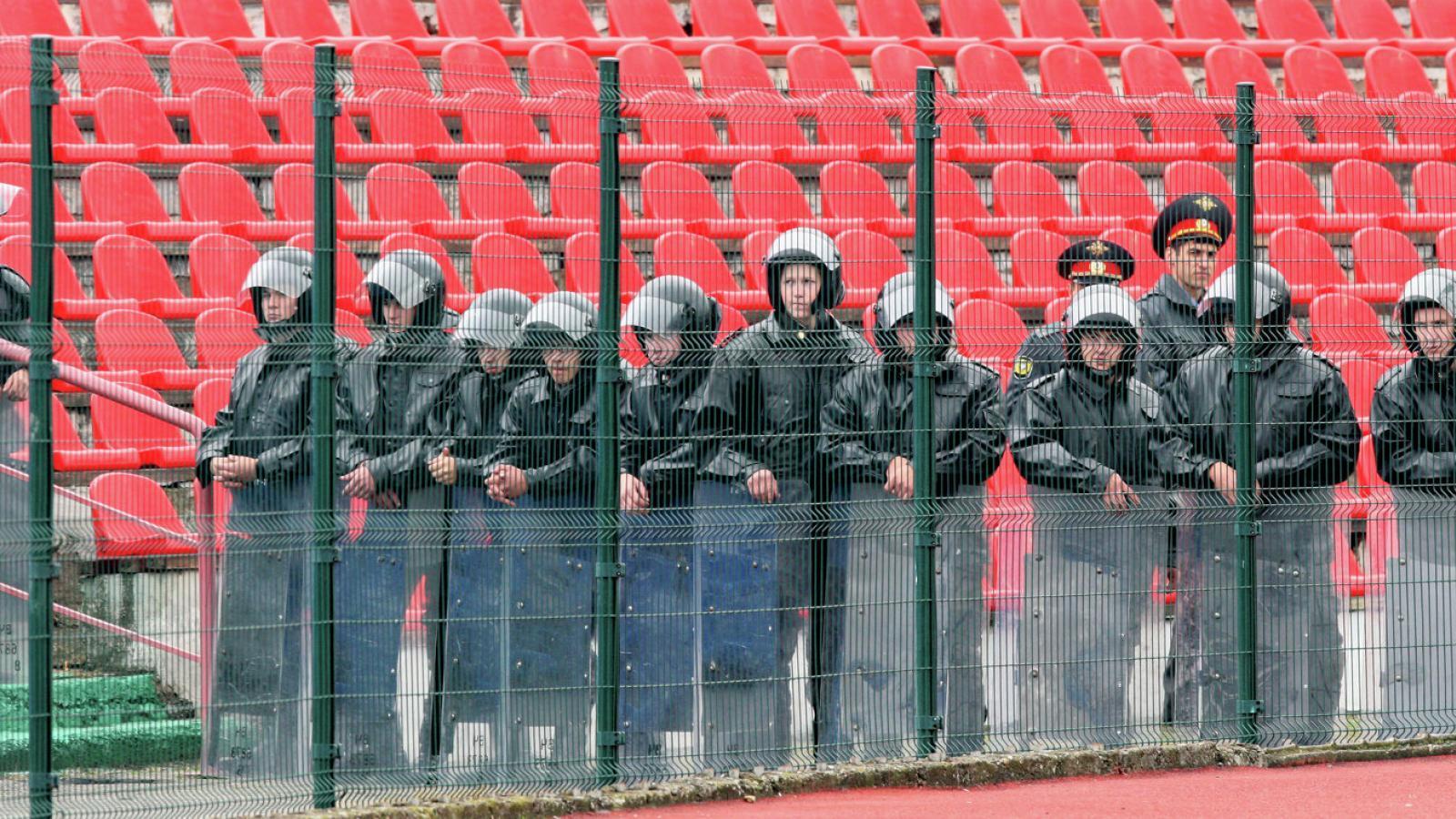Следить за порядком на ЧМ-2018 будут 600 вологодских полицейских