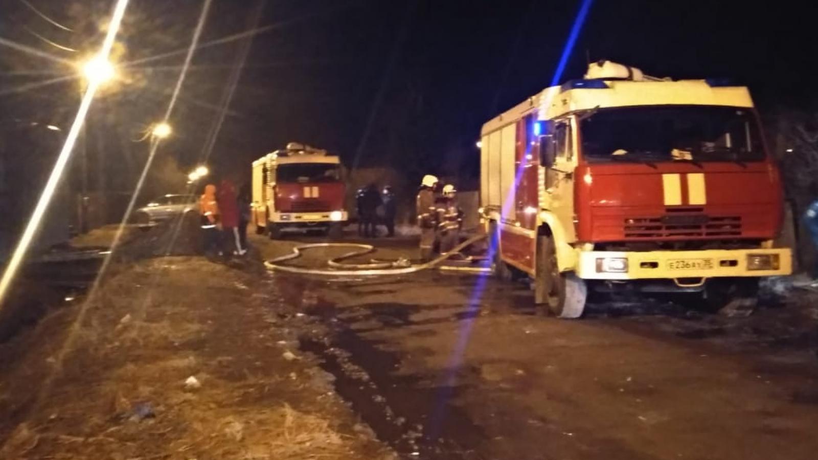 Пожар в Вологде. Есть погибшие
