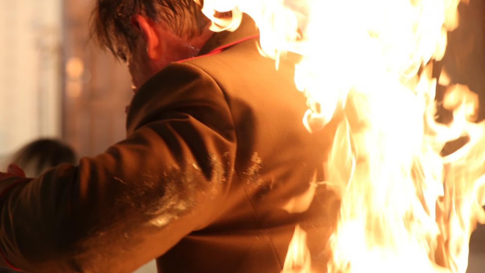 Мужчина сгорел в Вологде
