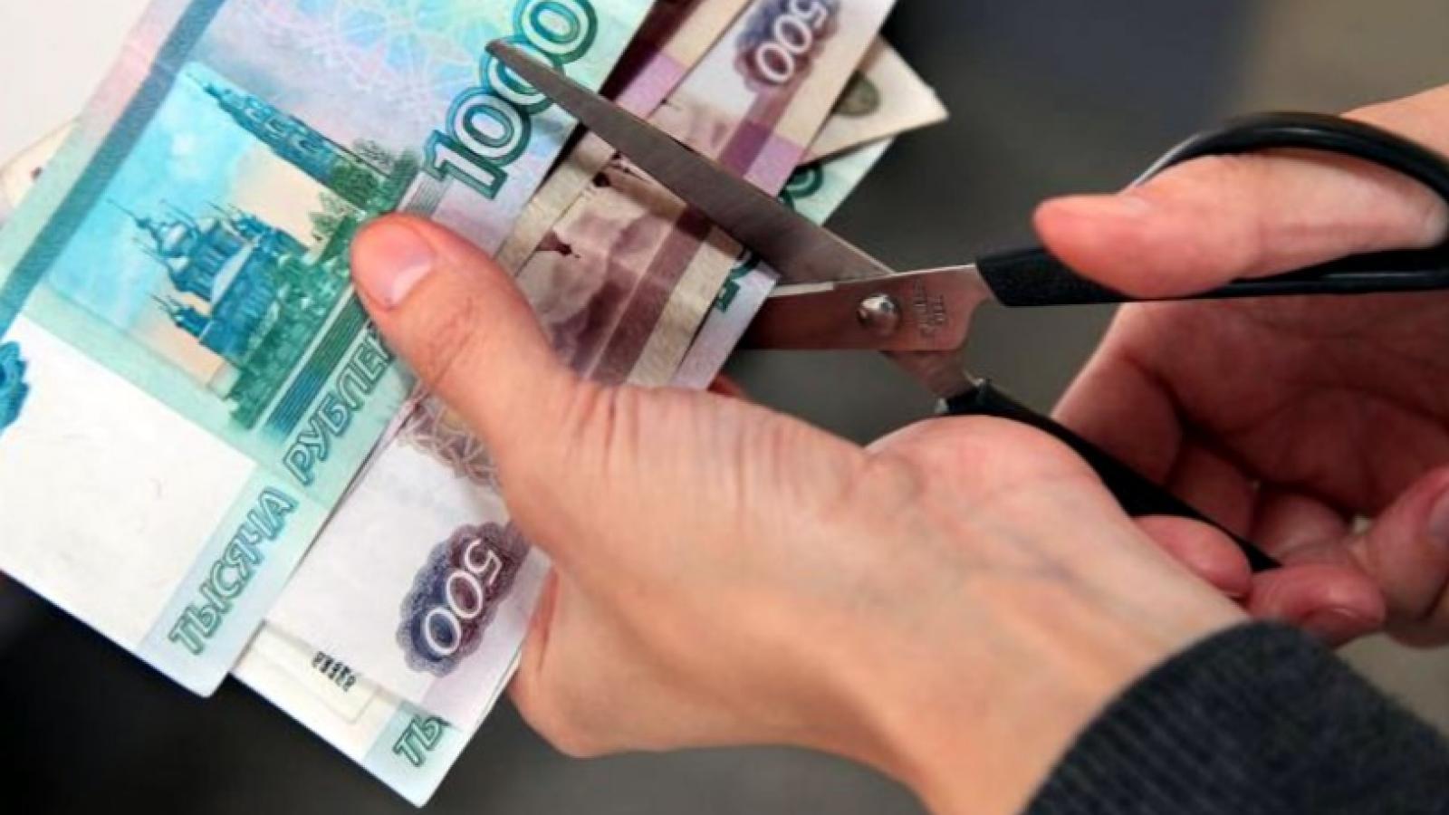 Доходы вологжан за год упали