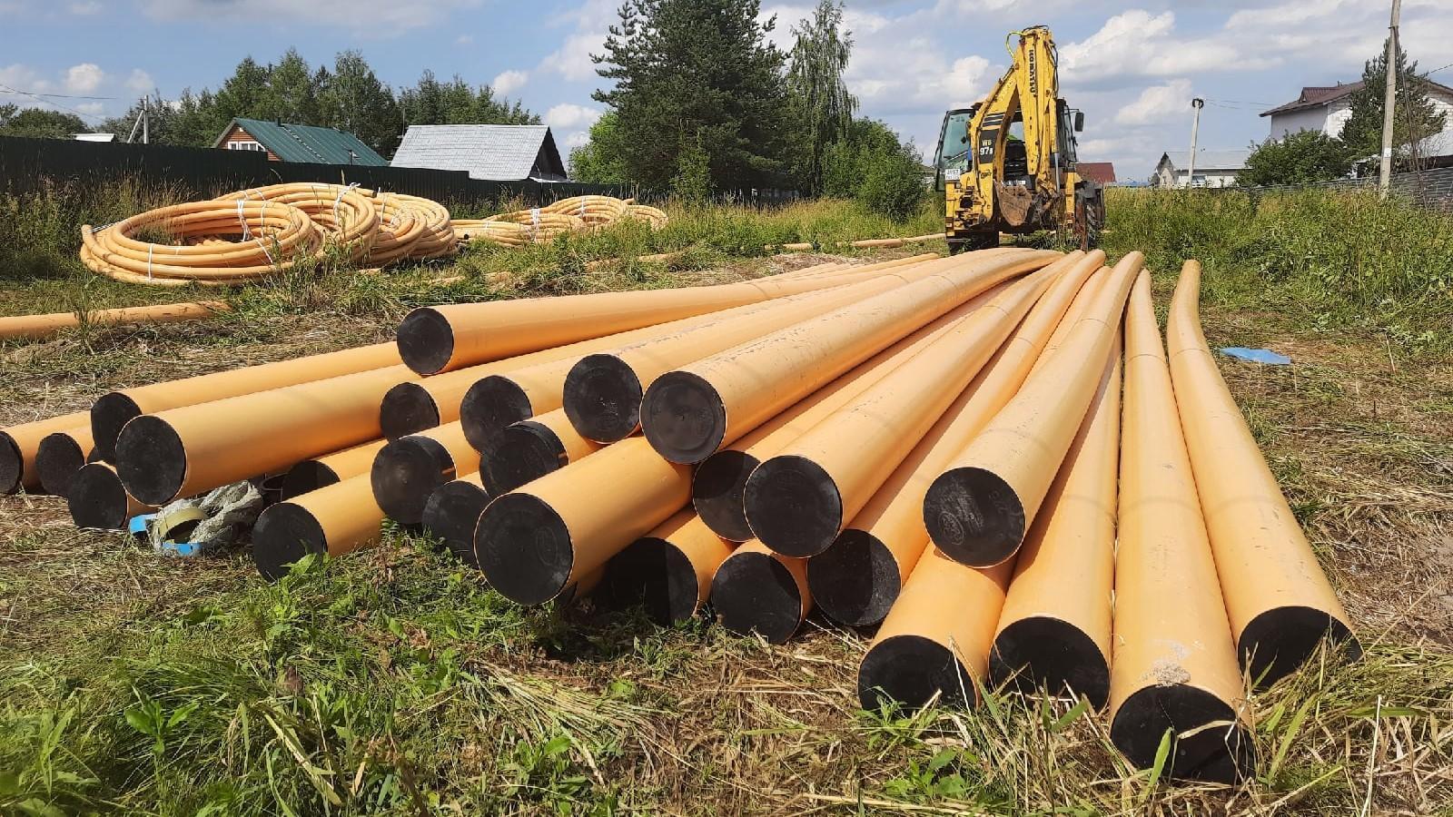 В Прилуках начали бурить землю для газопровода