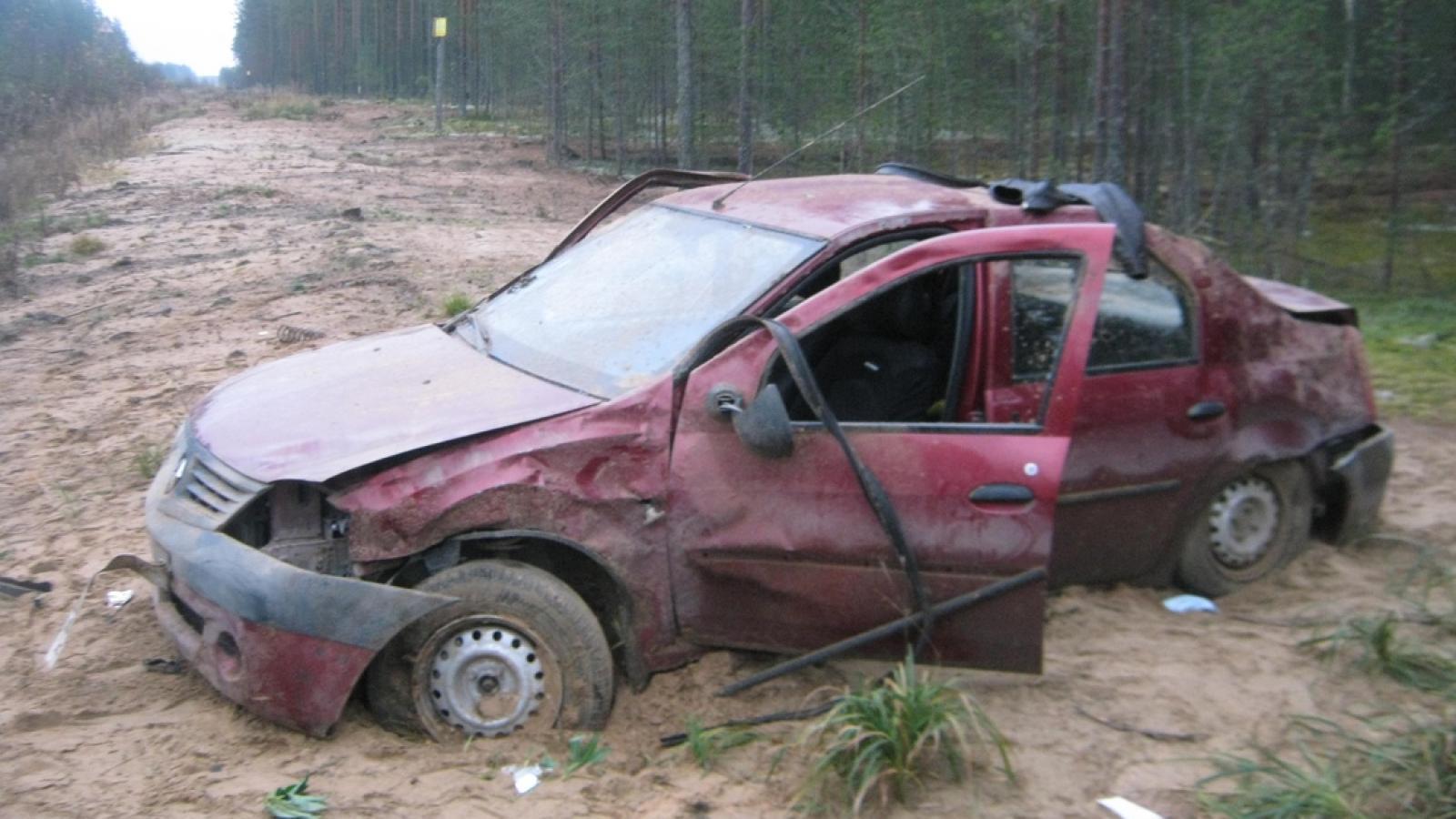 В Бабаевском районе погиб водитель