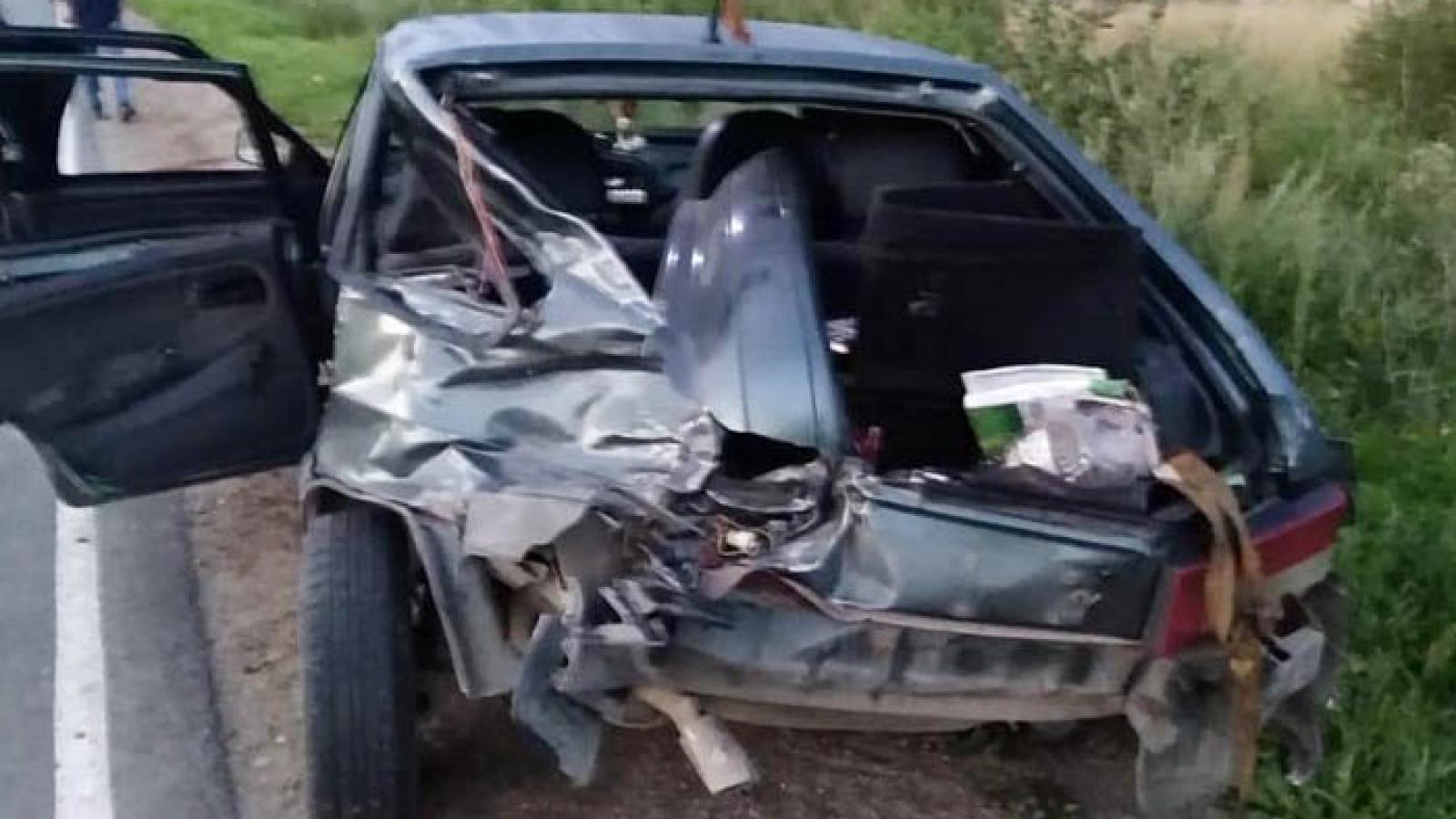 В результате ДТП в Грязовецком районе пострадало 4 человека