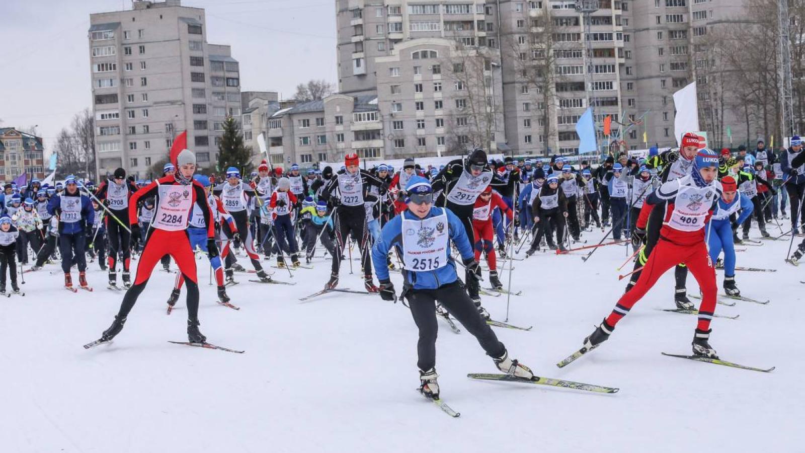 «Лыжня России - 2020» в Вологде