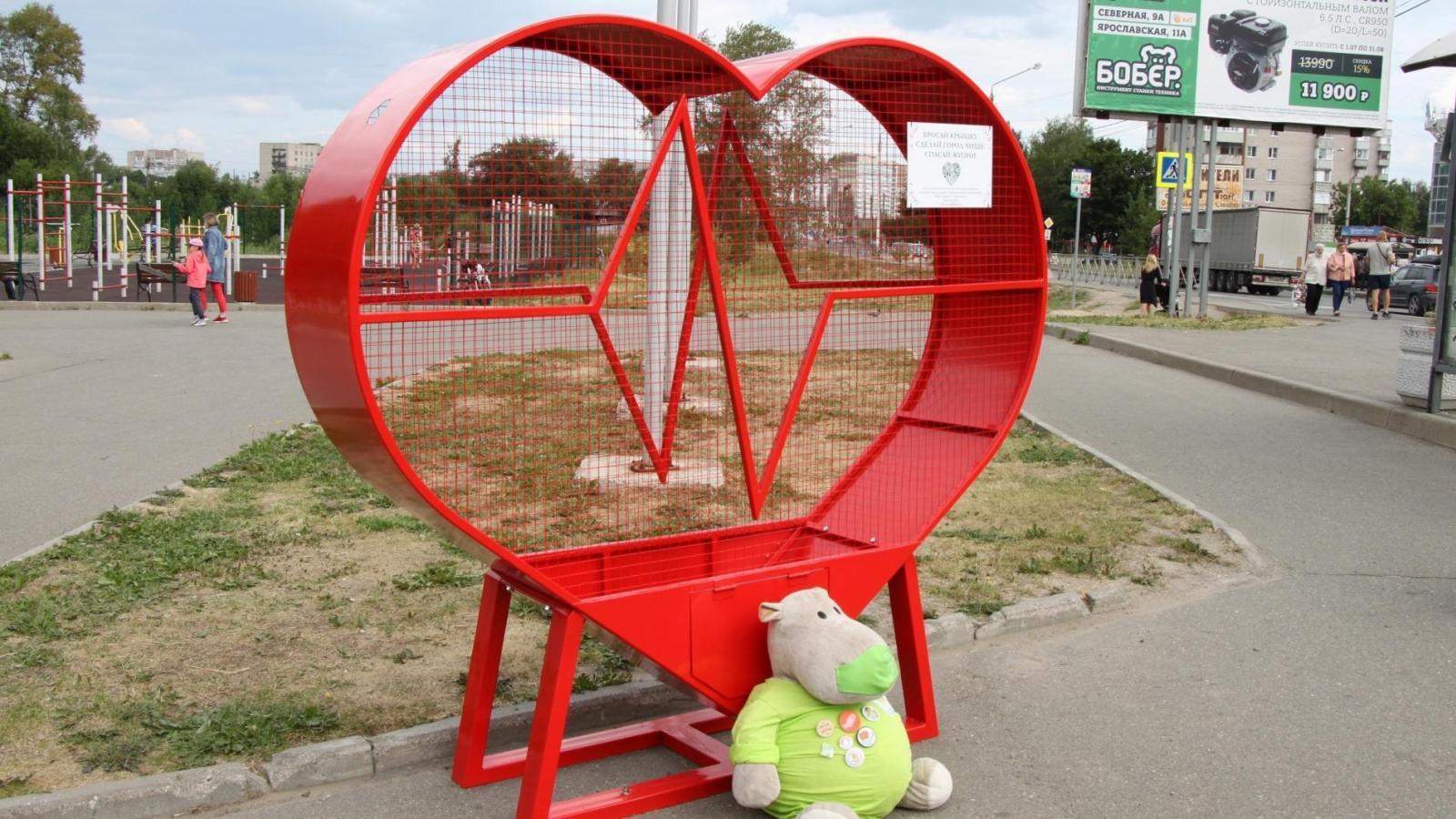 Полезный арт-объект появился в Вологде