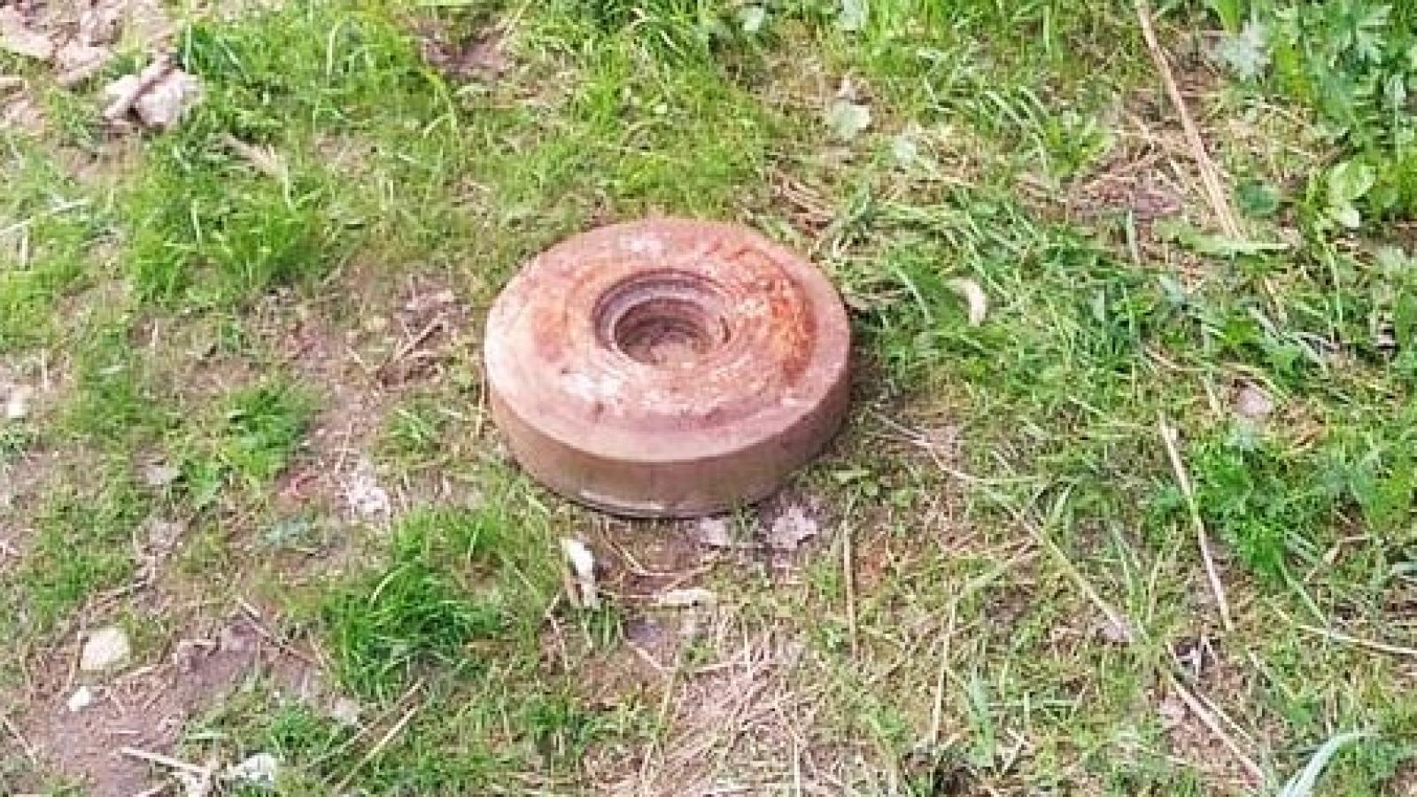 Противотанковую мину нашли в Вологде