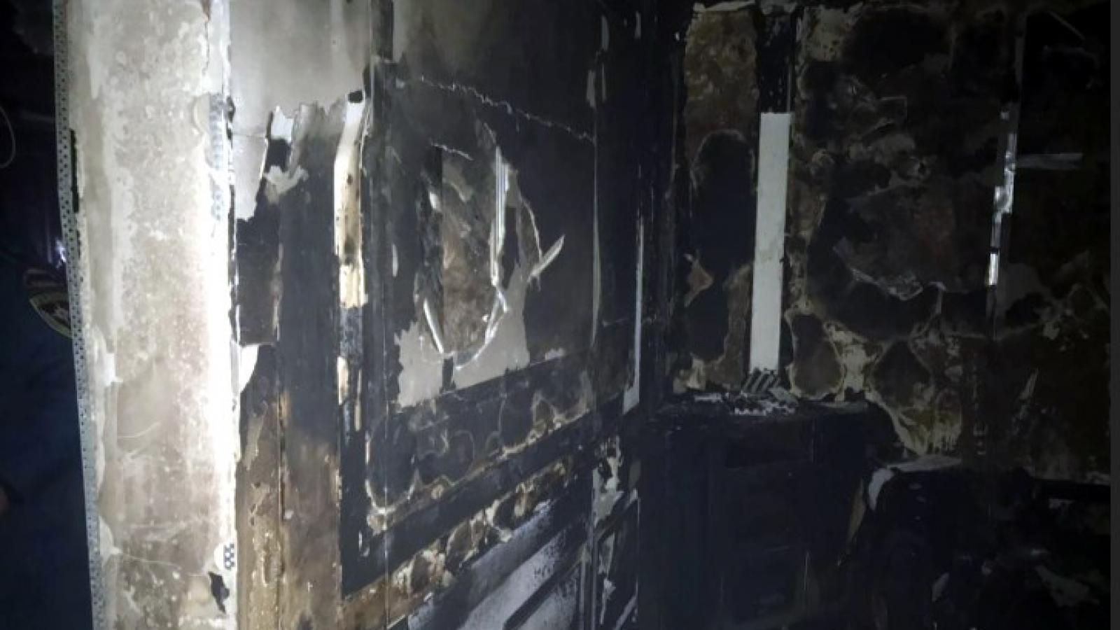 В Вологде сгорел ресторан