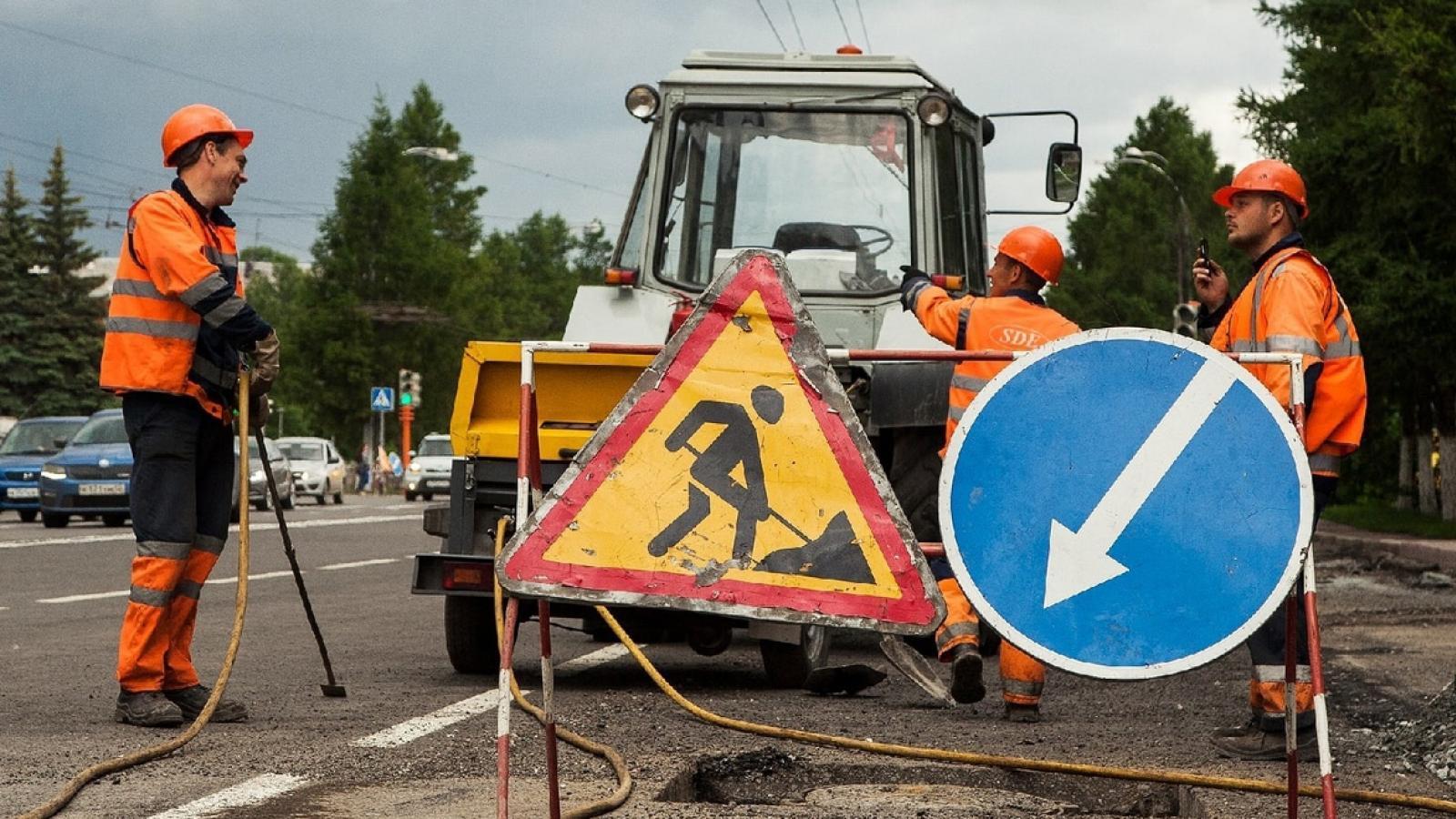 441 км дорог ремонтируют на Вологодчине