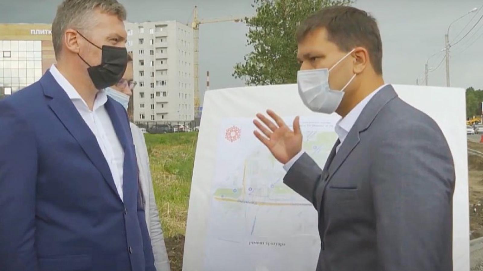 В Вологде начали делать тротуары