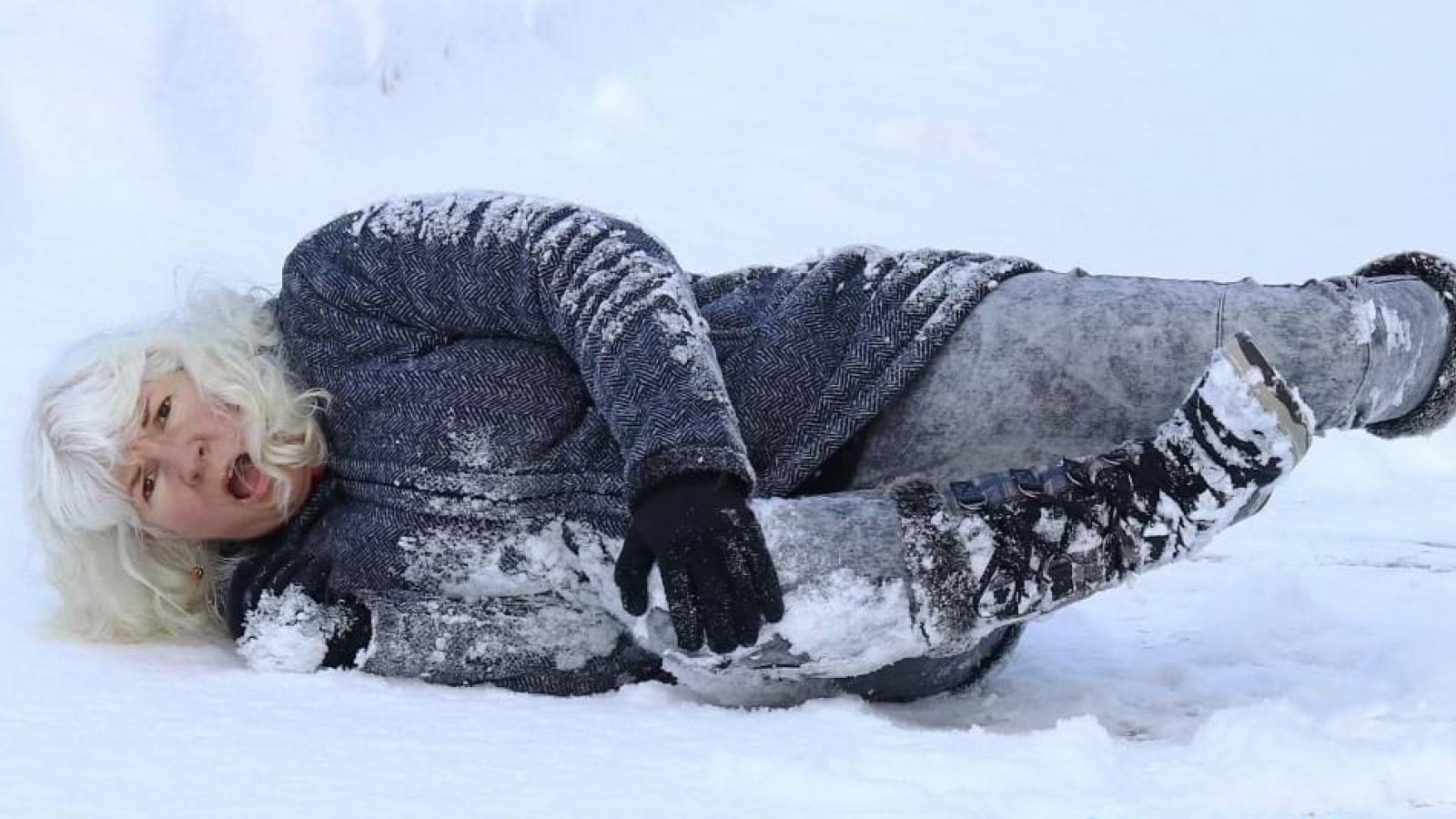 Женщина отсудила 100 тыс. руб. за падение на льду