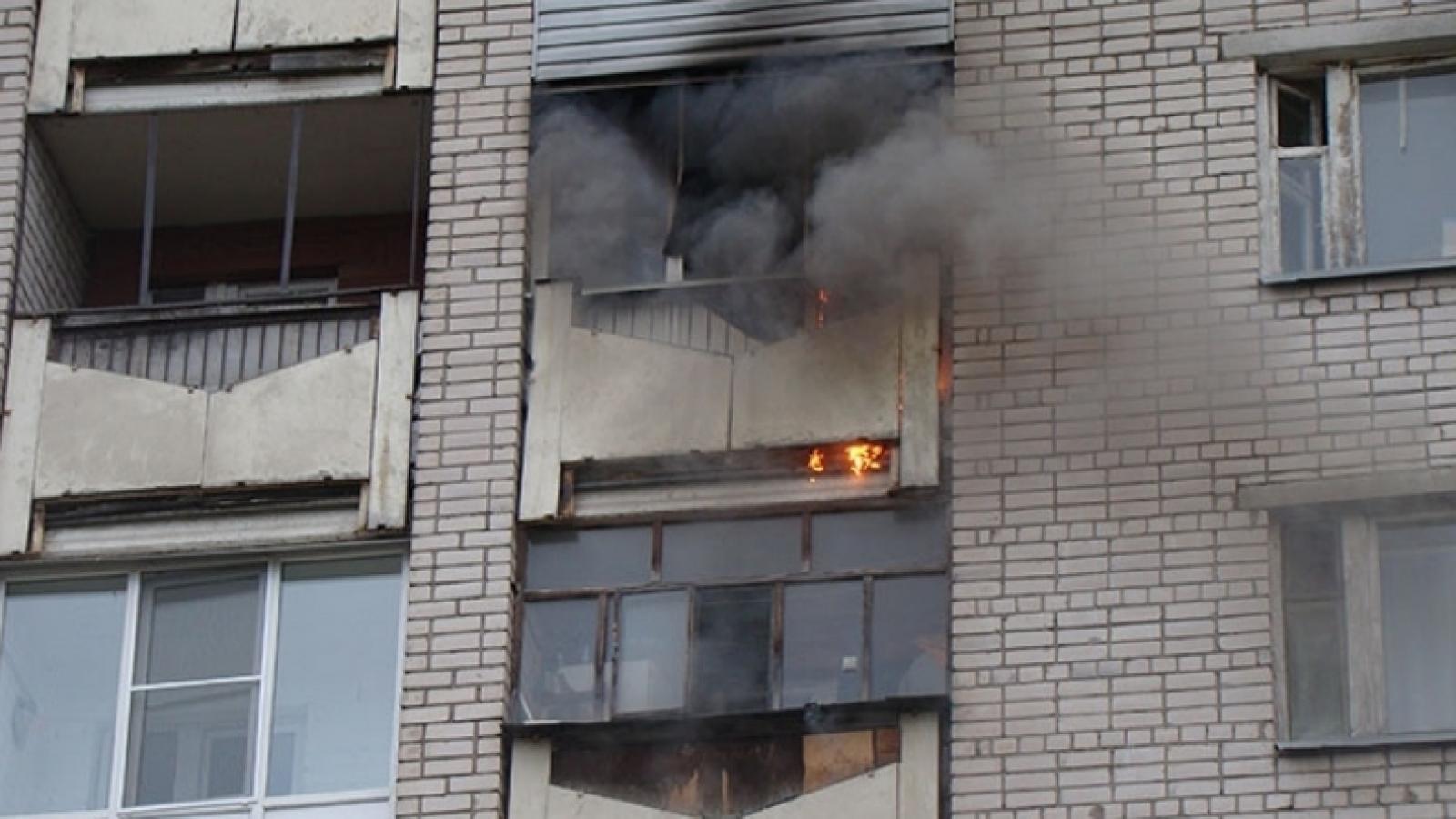 В Вологде из-за неисправности электропроводки сгорела квартира
