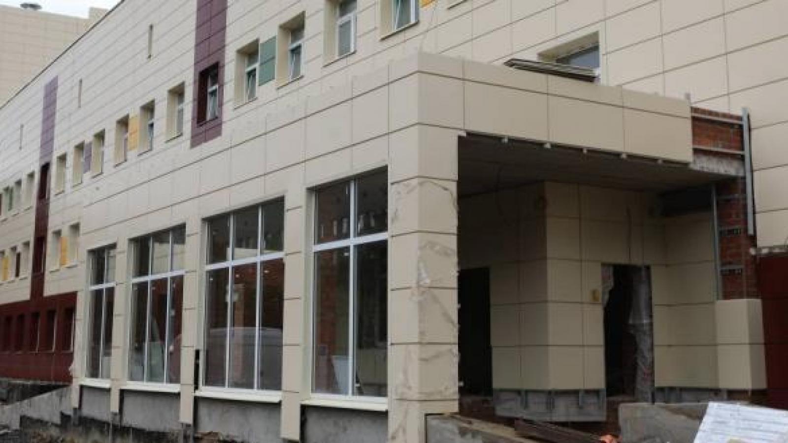 В Вологде достраивают перинатальный центр