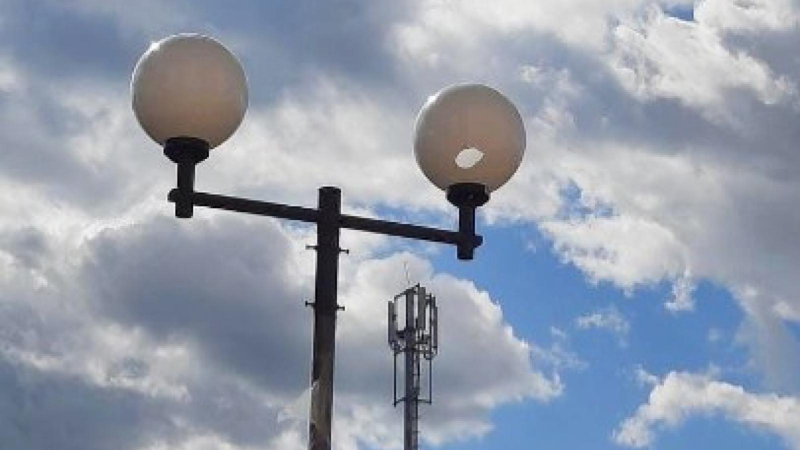 Новые фонари разбили в Вологде