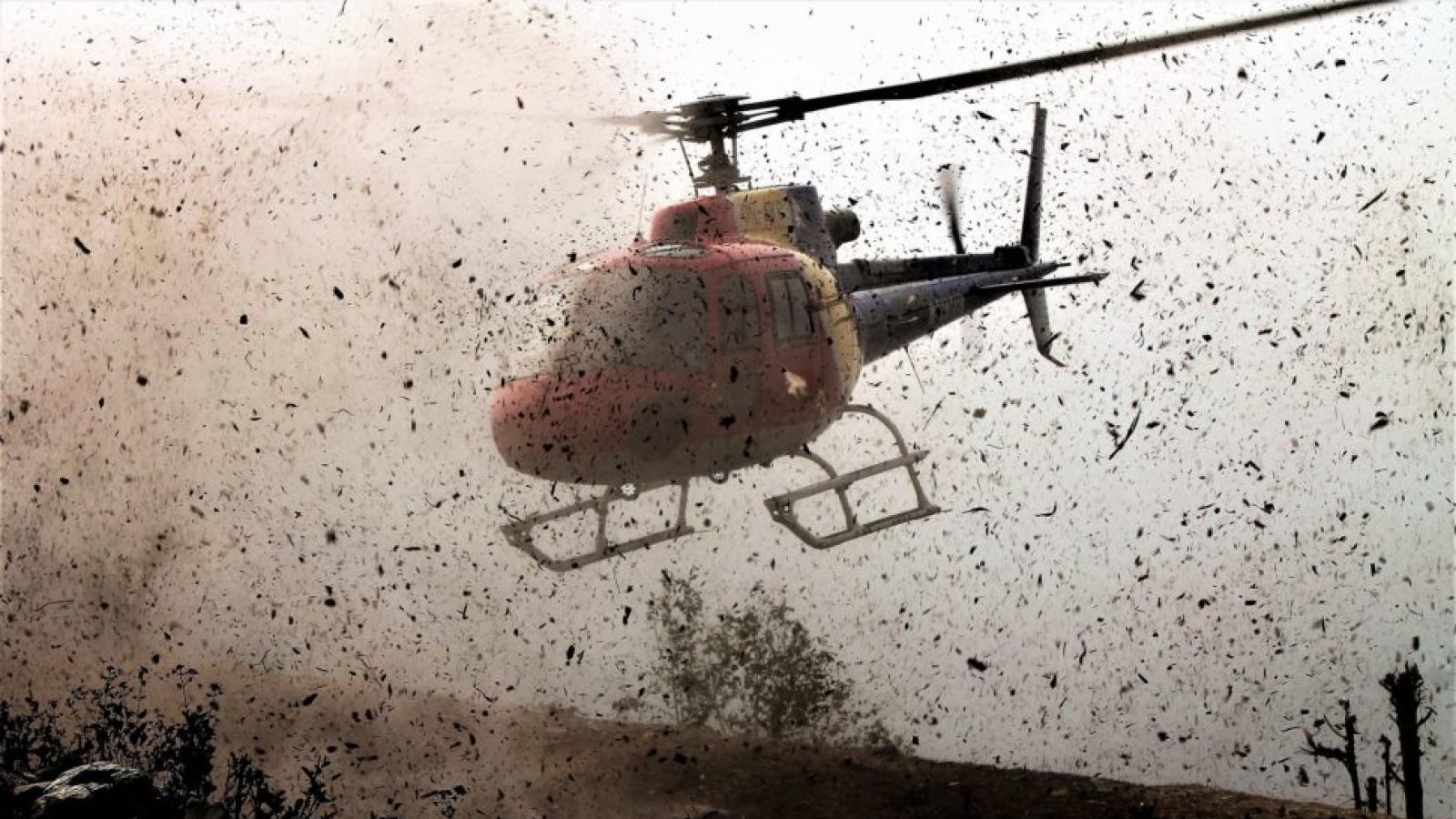 На Вологодчине рухнул вертолёт