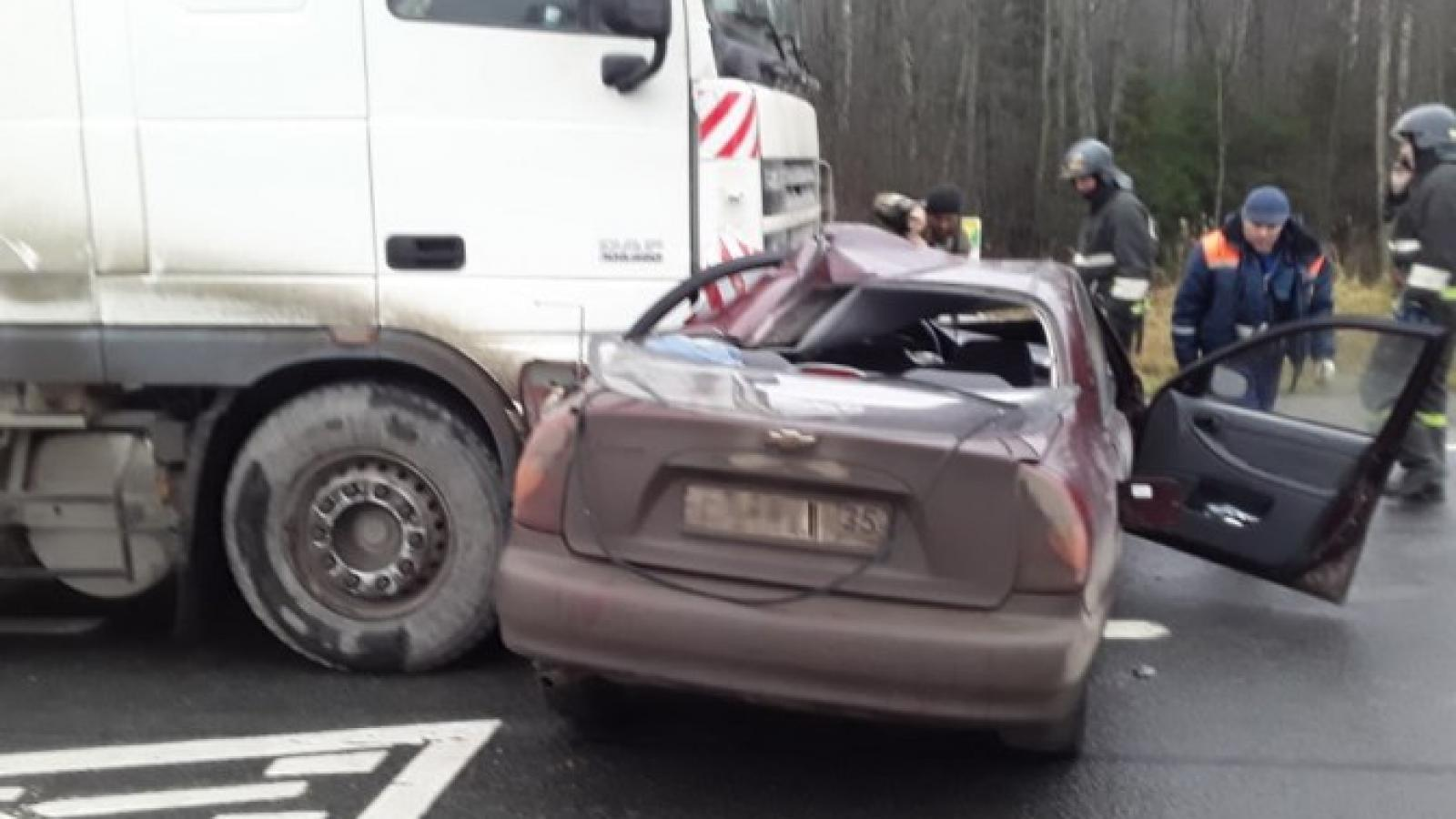 Молодой водитель погиб на трассе