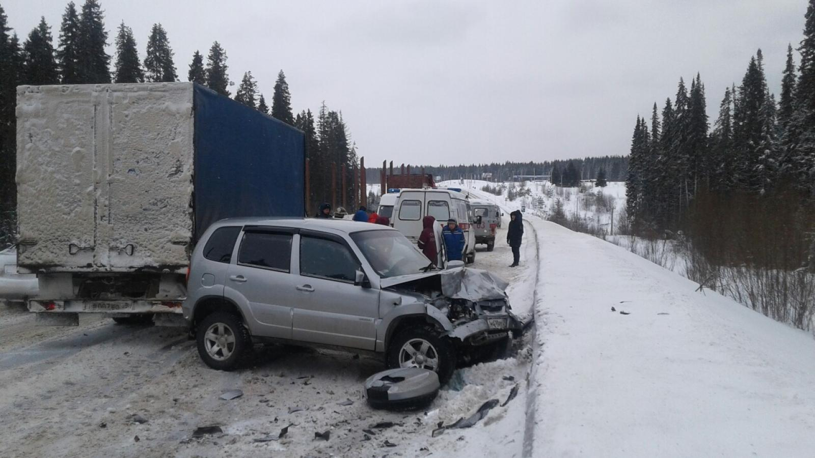 Страшная авария в Великоустюгском районе: двое погибших
