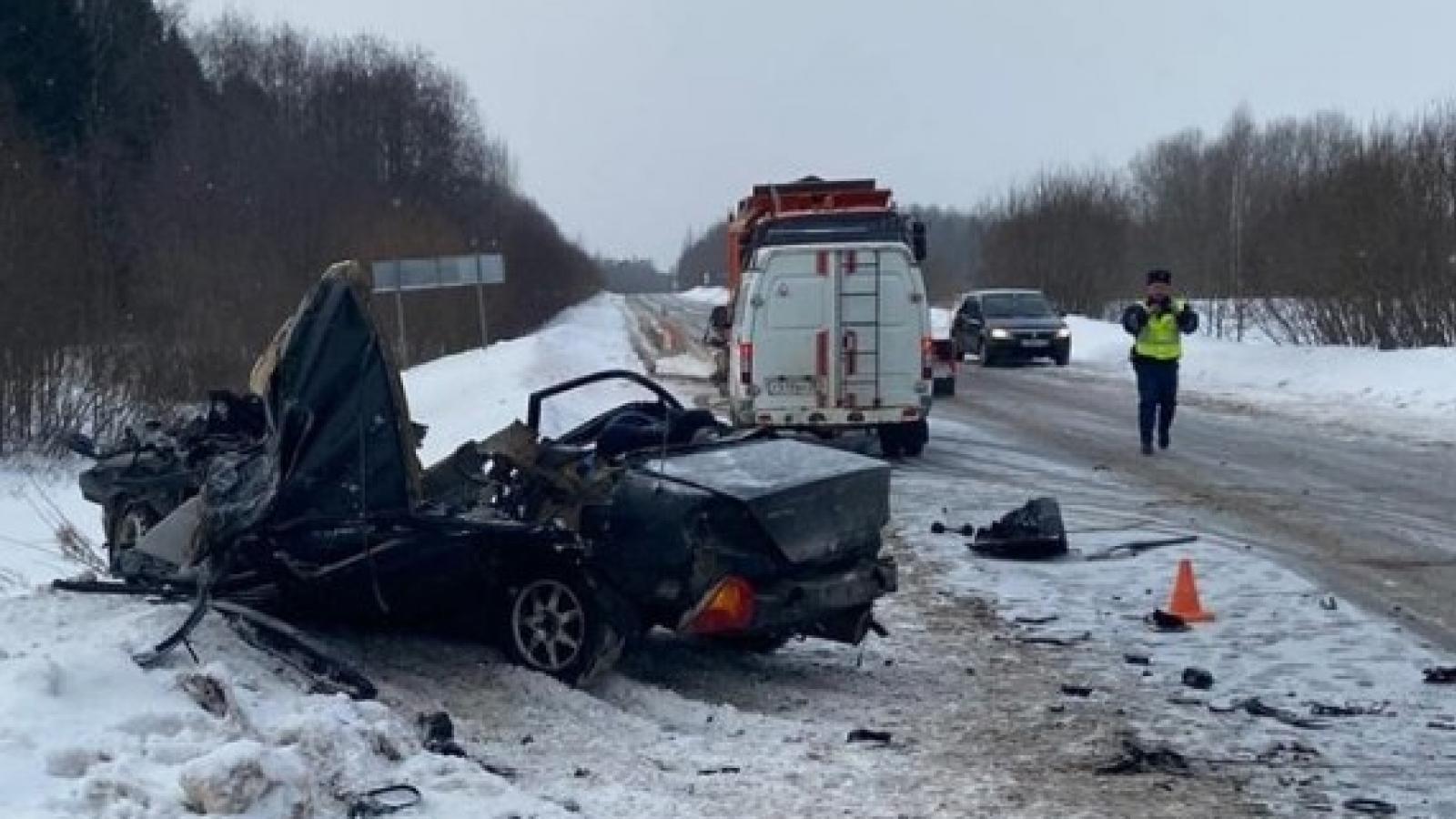 2 человека погибли в ДТП с автобусом