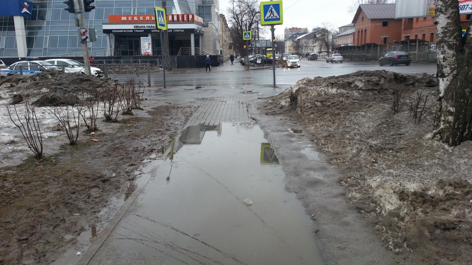 На ремонт тротуаров в Вологде в этом году потратят 20 миллионов рублей