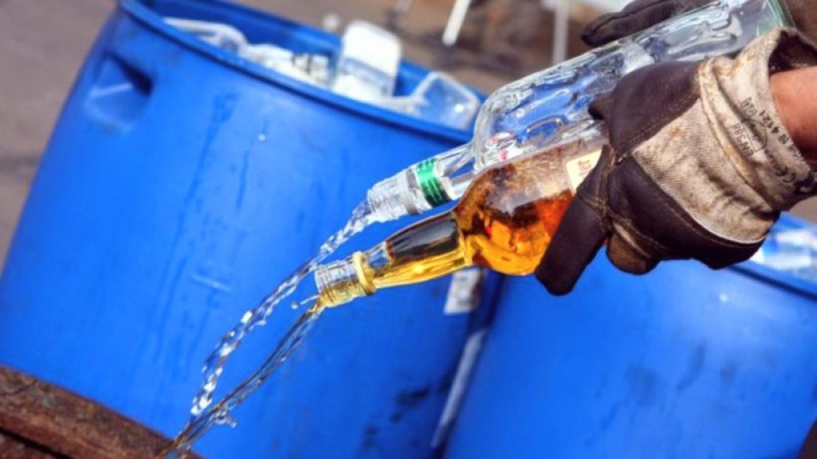 В Череповце нашли 2 тыс. бутылок контрафактного алкоголя