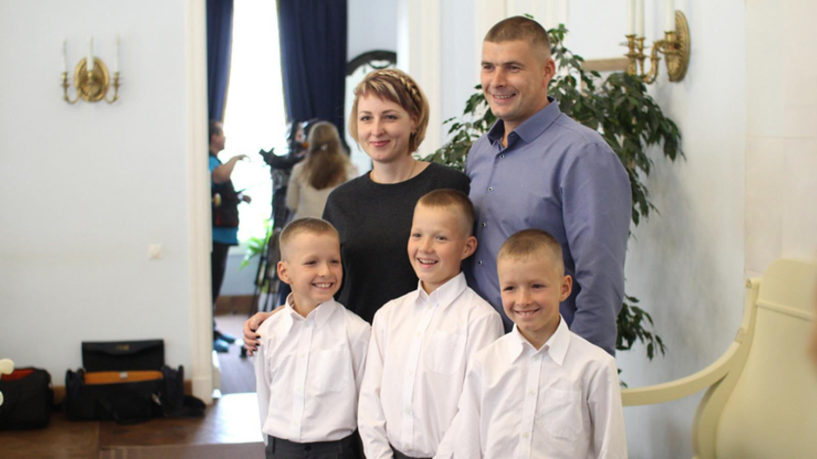 Семья из Череповца победила на всероссийском конкурсе «Семья года»