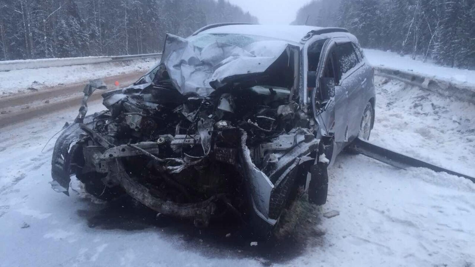 Смертельное ДТП под Вологдой: водитель погиб на месте