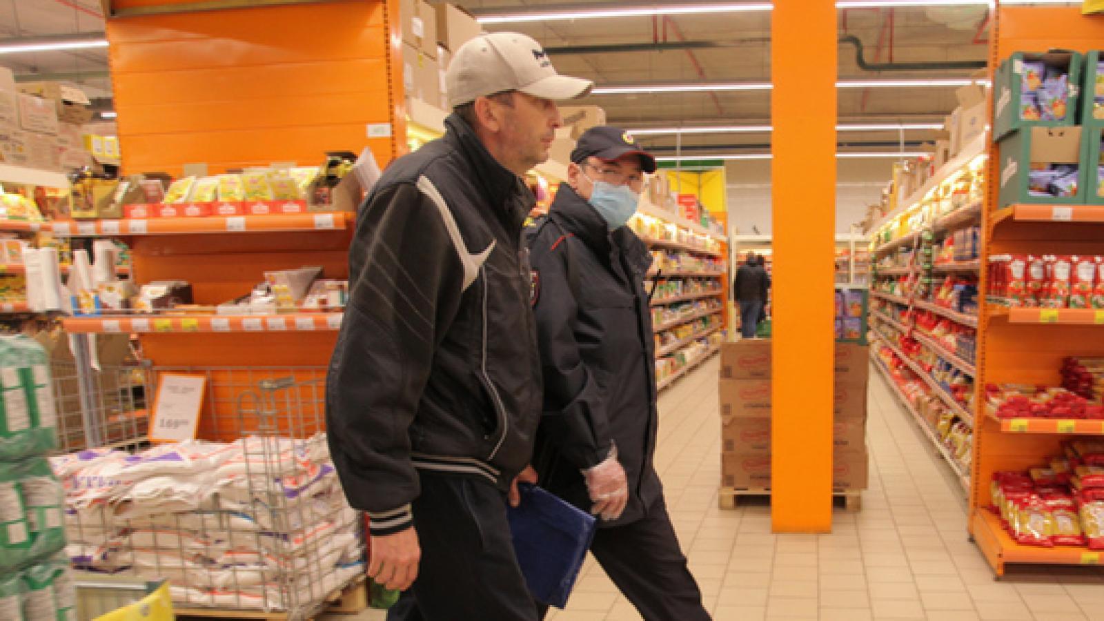 В Череповце прошёл рейд по проверке масочного режима