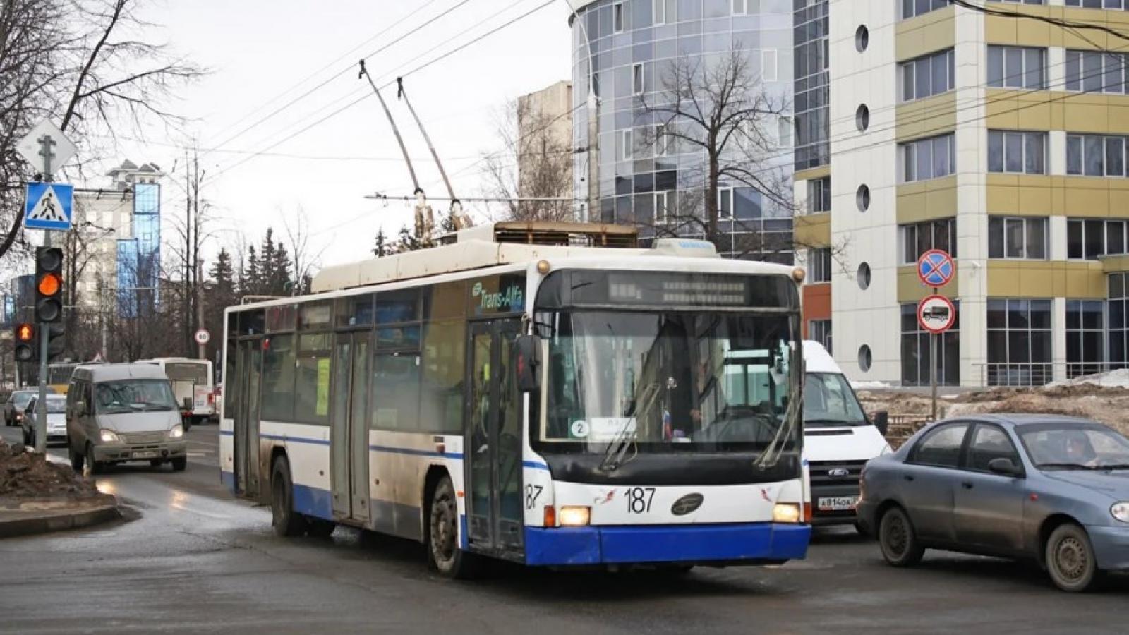 Троллейбусная сеть расширится в Вологде