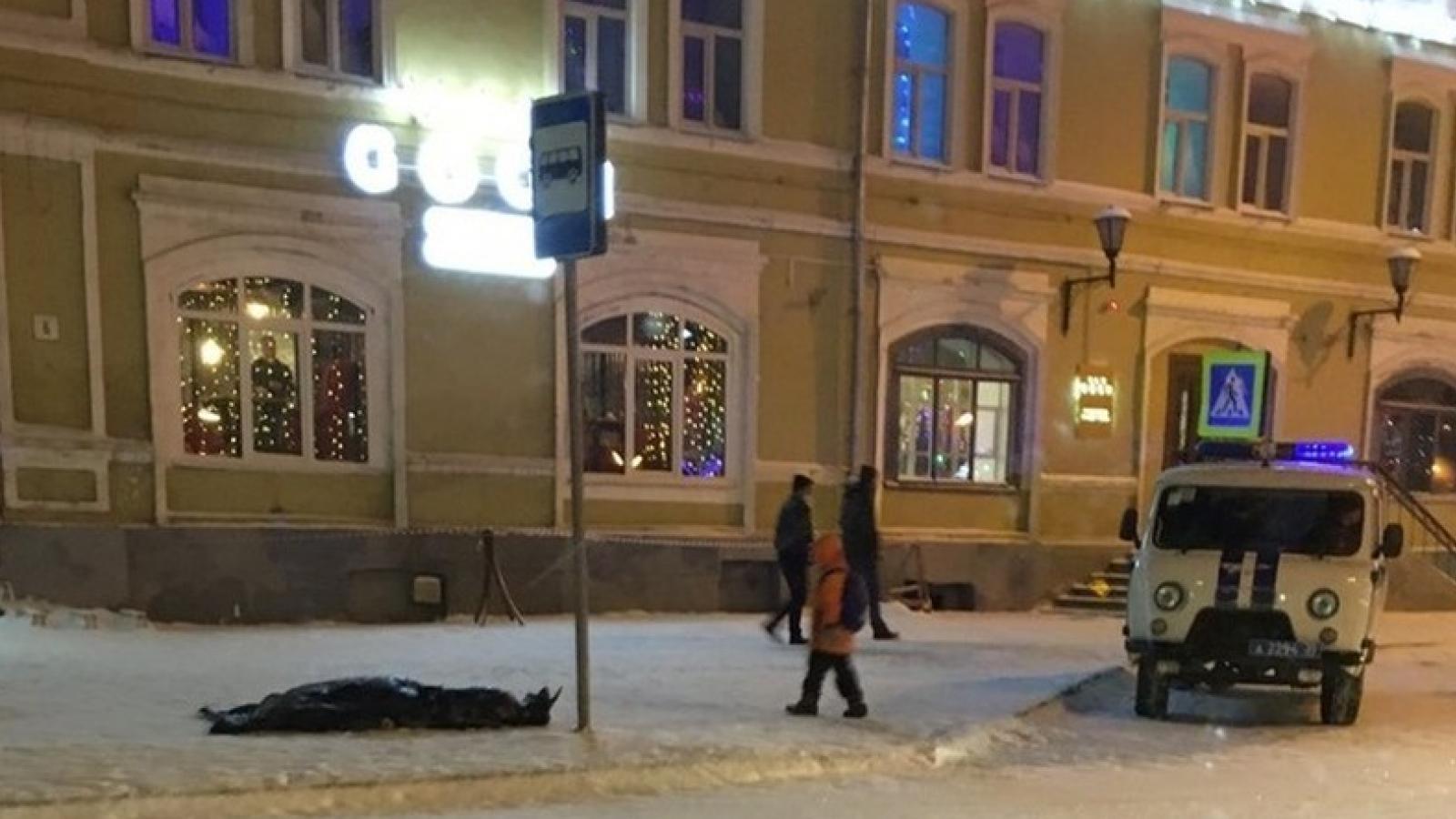 В центре Вологды нашли тело