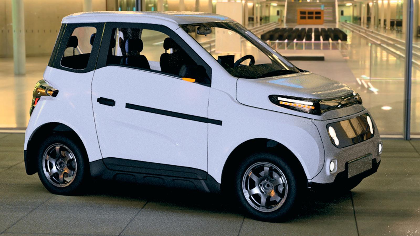 В России создали дешёвый электромобиль